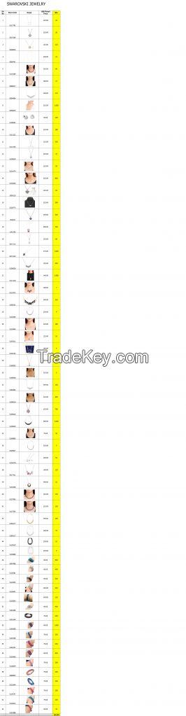 Branded Necklaces and Bracelets