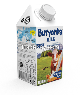 whole fresh Cow's milk