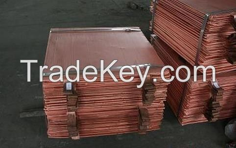 Copper Cathodes 99.99% Purity in Copper / Copper Scrap for Sale