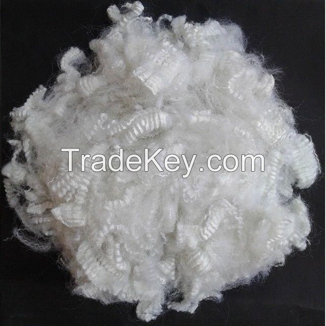 15D hollow silicon polyester fiber A grade