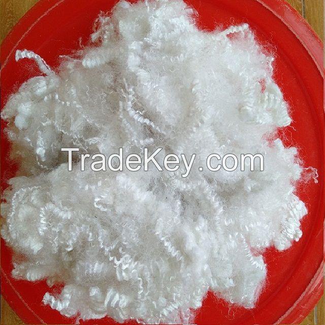 10D hollow non-silicon polyester fiber A grade