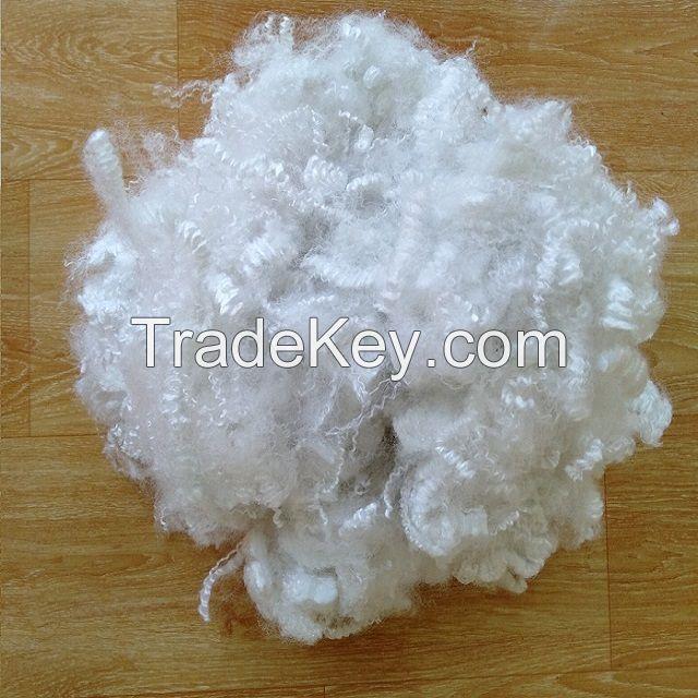 10D hollow silicon polyester fiber A grade