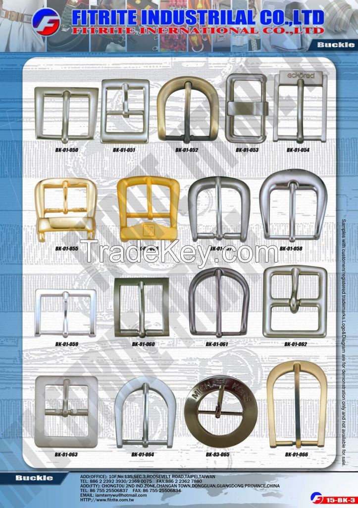 Quality Buckles Source for your demand