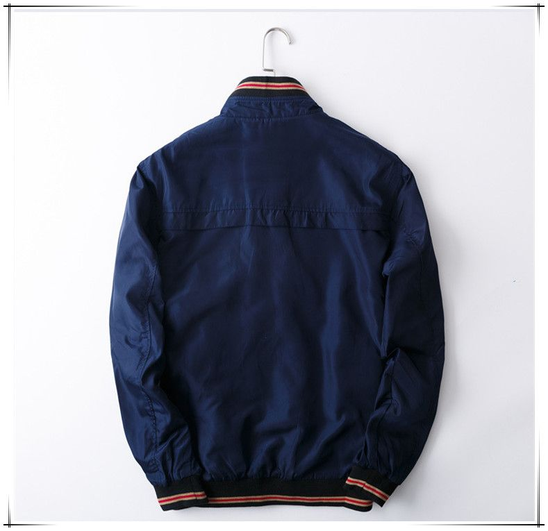 men's fashion jacket dark blue muscle