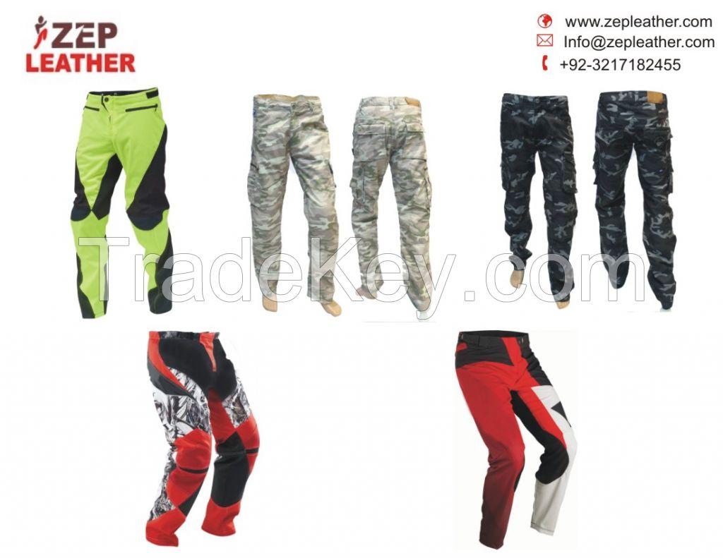 Custom made Motorbike/Motorcycle Cordura Textile Trousers CE protected/600D cardura motorcycle waterproof pants