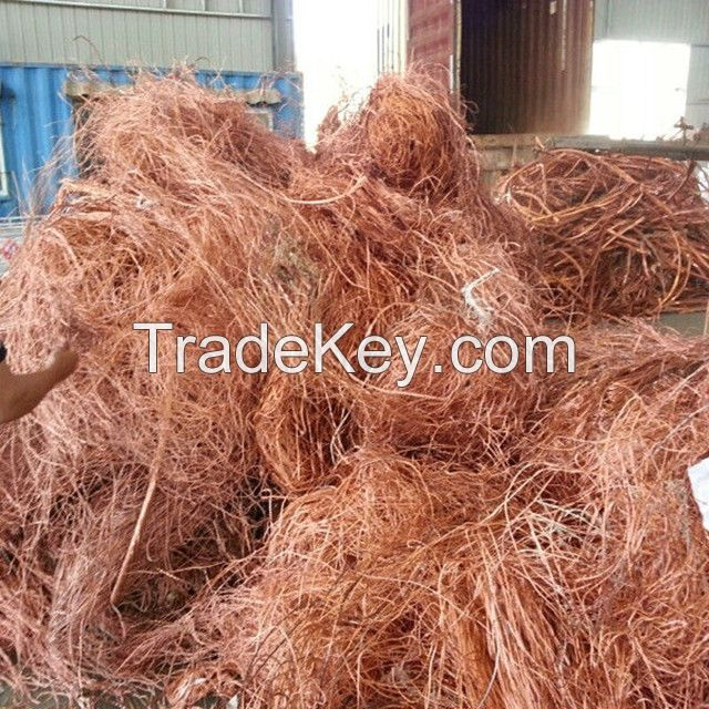 Copper Wire Scrap Millberry/Copper Wire Scrap 99.99%