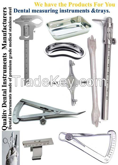 Dental measuring Instruments