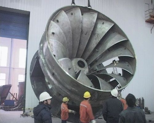 Francis, Kaplan, Pelton turbine generator for HPP
