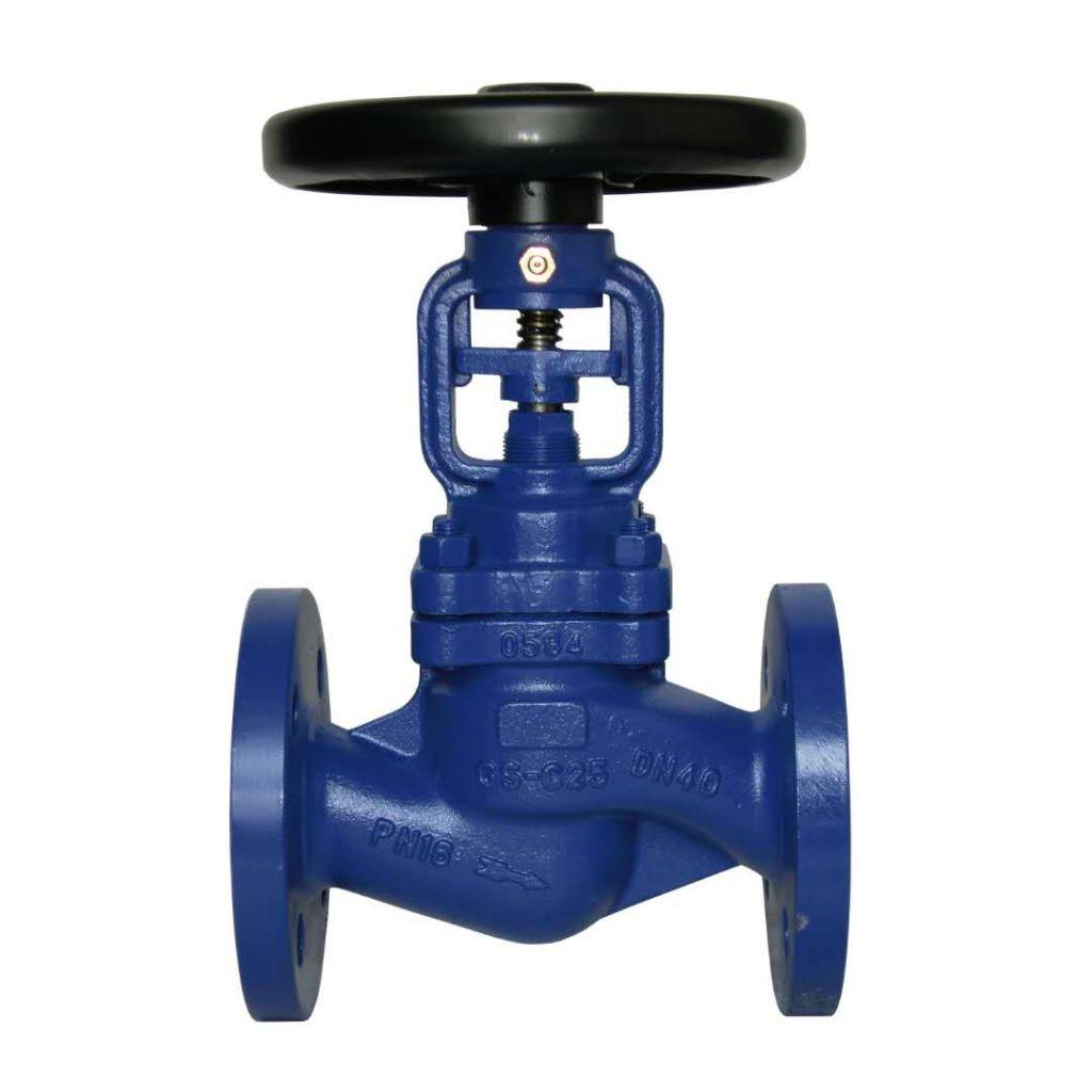 WC/SS/Cast iron bellows sealed flange globe valves