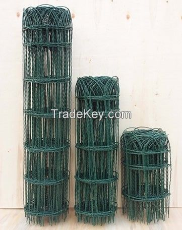 PVC Coated Garden Border Fence