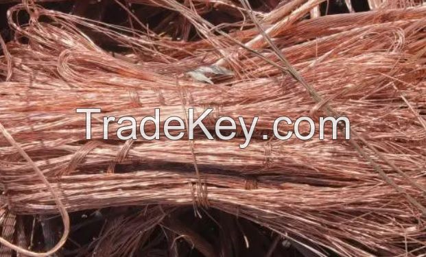 Pure Copper scrap wire 99.99%
