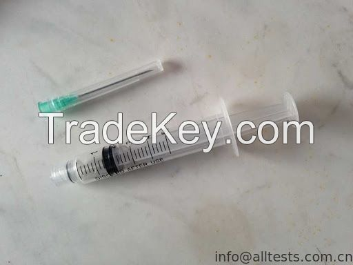 isposable syringes  and  needle