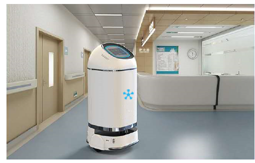 RoboCT spray disinfection robot product introduction