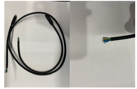 Aviation plug socket connection male and female head 10 pin core cable