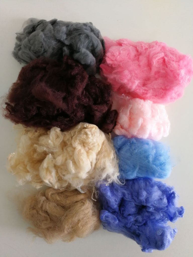 polyester staple fiber with G.R.S certificate