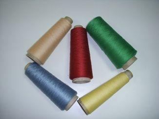 polyester spun yarn dope dyed at good prices