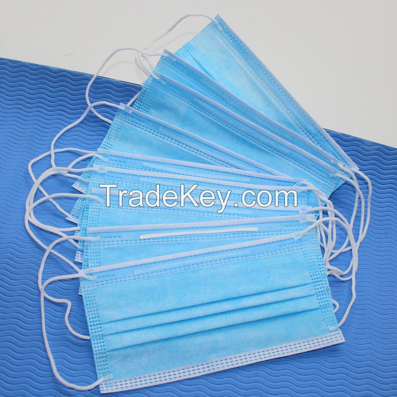 3 Ply Ear Loop Surgical Face Mask For Sale