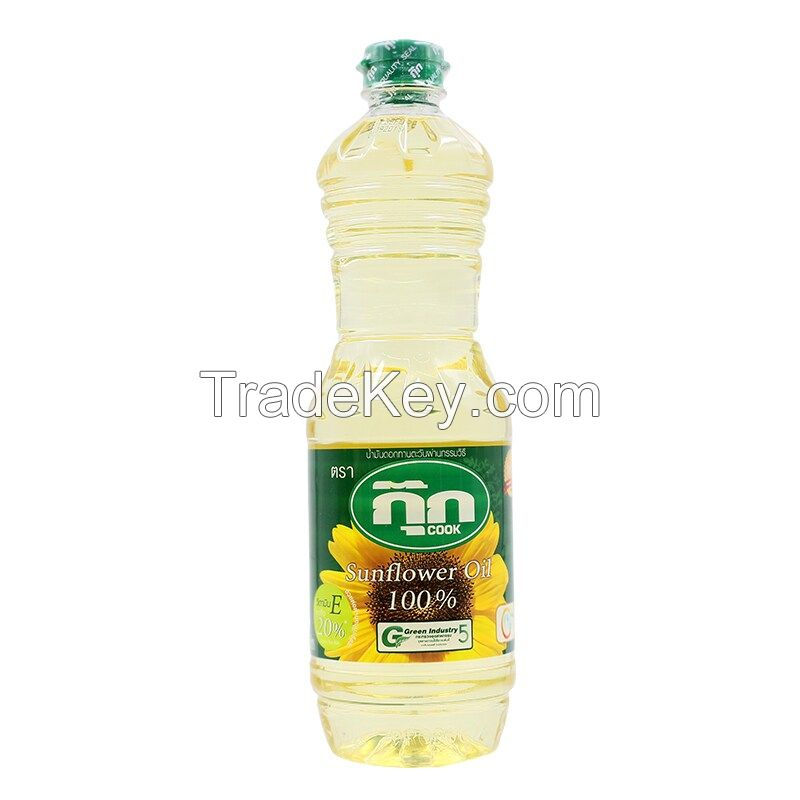 Sunflower cooking oil. ( refined and unrefined)