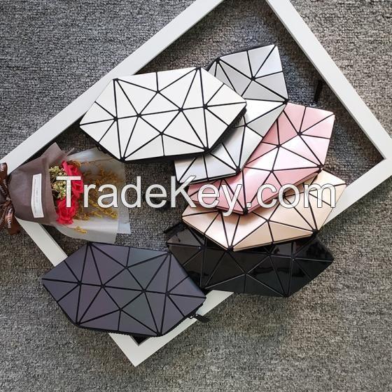 Geometric Luminous Cosmetic Bag for Girls Best Price Ever