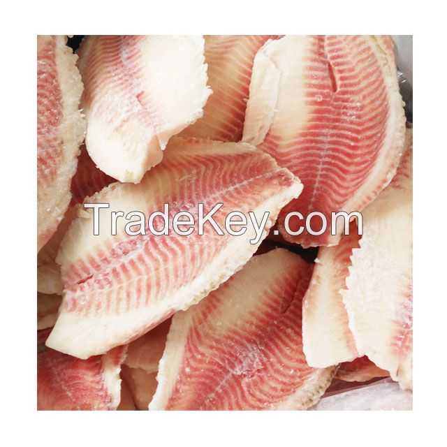 frozen tilapia fish fillet, fresh tilapia fillet red meat