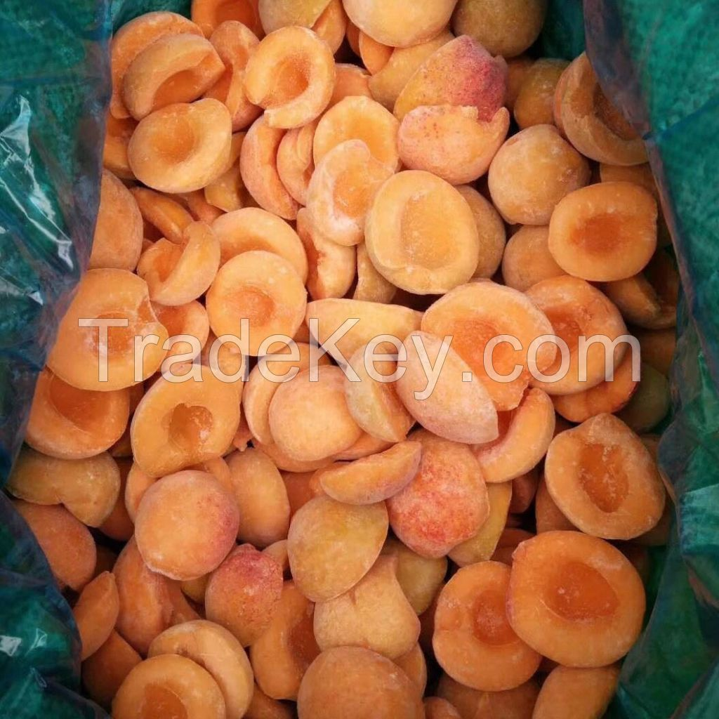 New Crop Unpeeled Frozen apricot IQF apricot for sale