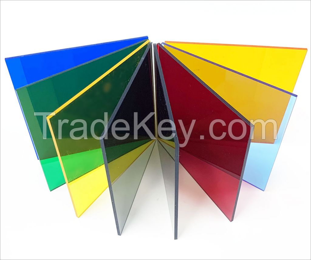 Best price color clear/transparent cast pmma plexiglass acrylic sheet board