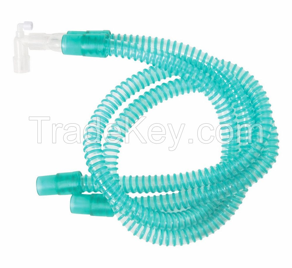 Disposable anesthesia breathing circuit with latex-free bag with CE/ISO