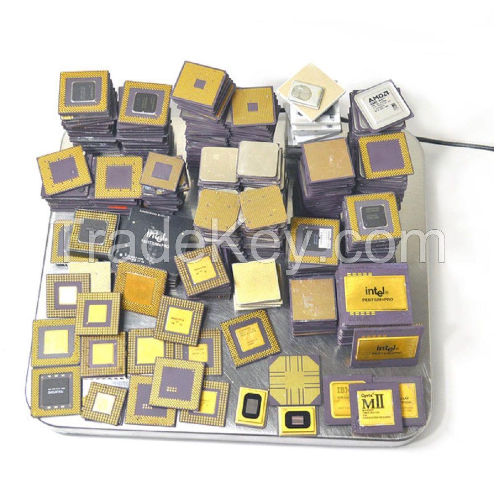 gold ceramic cpu scrap CPU Processor Scrap