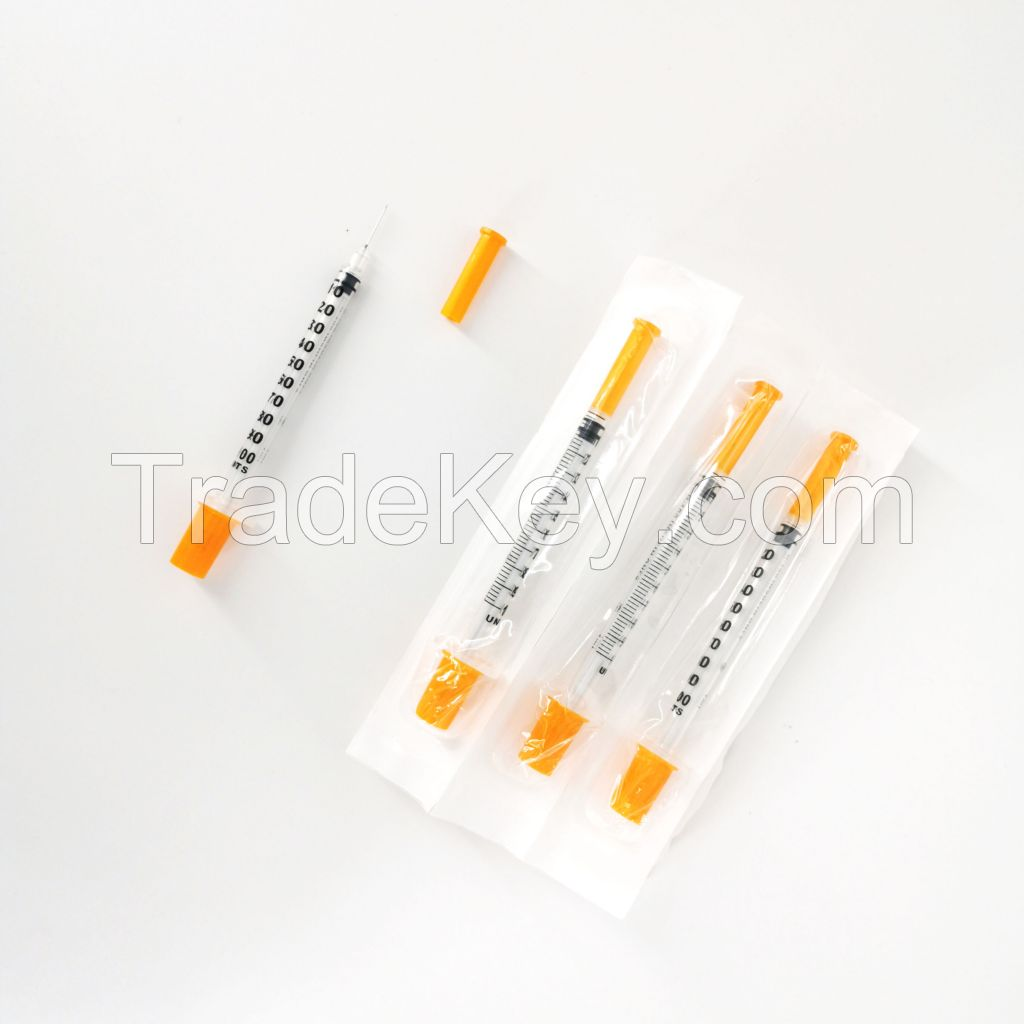 Retractable Safety Syringe with Needles