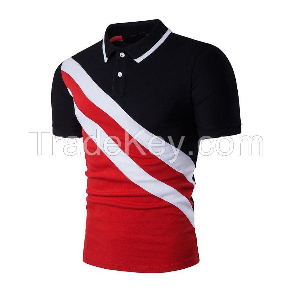 high quality men customized sports polo shirt