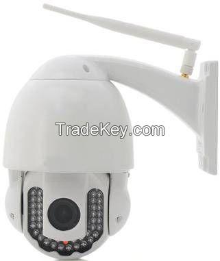 720p Varifocal Wireless WiFi Waterproof IP PTZ CCTV Speed Dome Camera 5X IP High Speed Dome Camera
