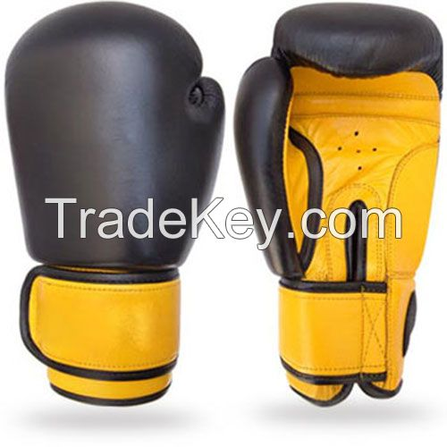Mens Leather Boxing gloves