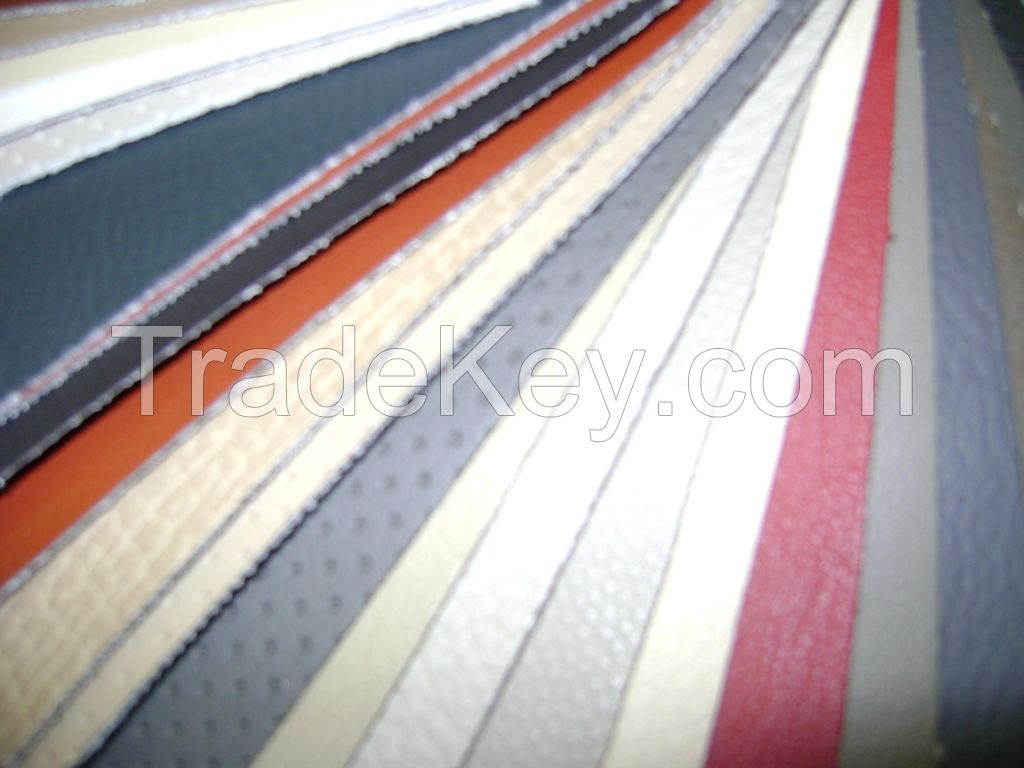 PVC Leather For Auto or Furniture