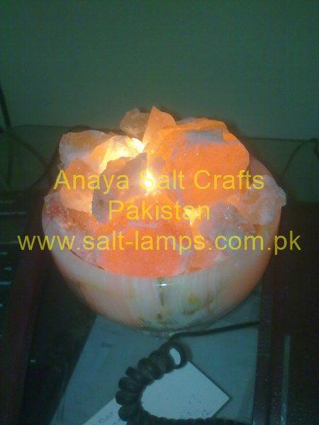 Fire Bowl Salt Lamps/ Carving Crafts/ Vase Salt Lamps/ Bowl Salt Lamps