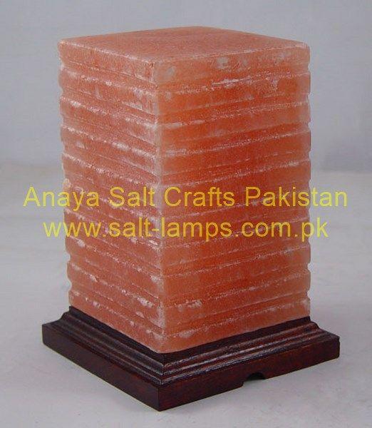 Himalayan Cube Salt Lamps/ Crystal Crafted Salt Lamps/ Pink Himalayan Crafted Ionizer