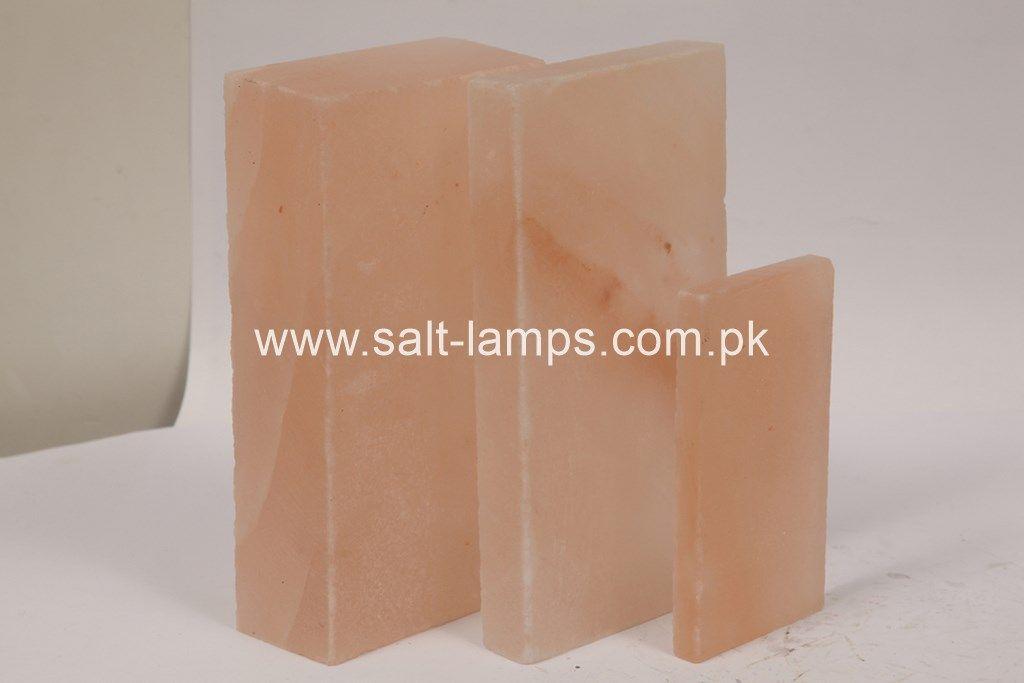 Himalayan Pink Rock Salt Tiles, Bricks and Blocks