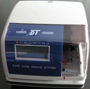 Time/date/numbering printer - Time Stamp - Time Stamp Printer Manufacturer, -modelTS868A