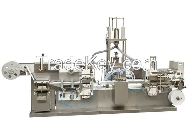 Form, fill and seal machine