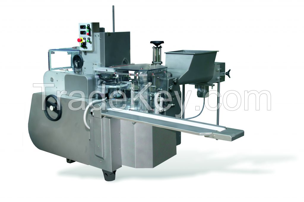 Butter filling and wrapping machine ARM with minimal safety covers