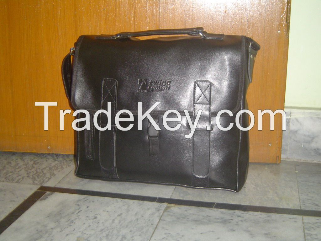 Stocklot Leather Business Briefcase
