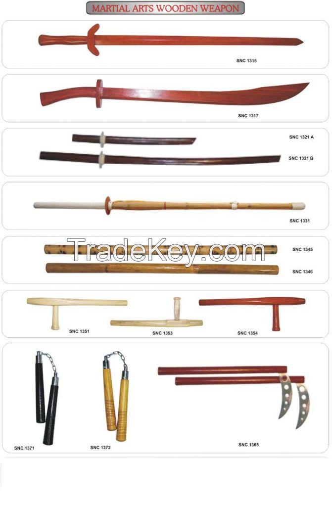 MArtial Art Wooden Weapons Self Defense