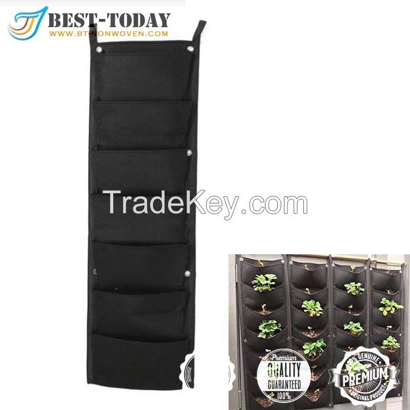 7-100 pocket vertical garden tan grow bag
