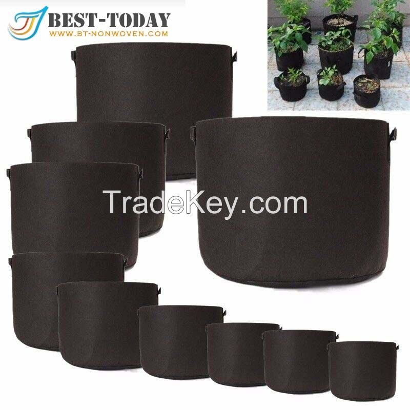 Hot Selling Products 2017 Fabric Plant Pots 10 Gallon Outdoor Plant Pot With Handle