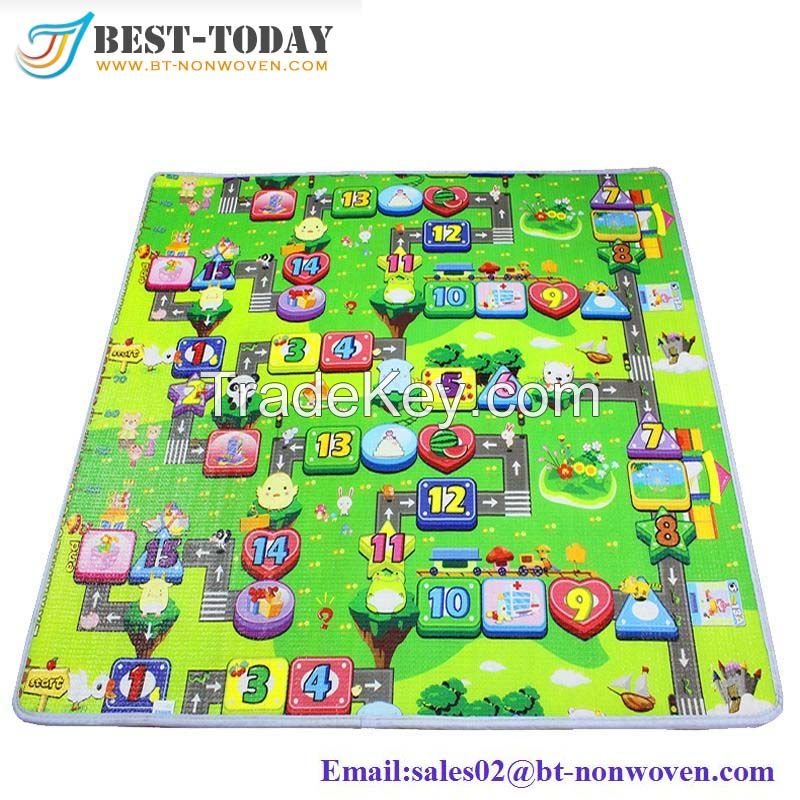 2017 China Supplier High Quality Non Slip 10mm Thickness Baby Care Play Mat