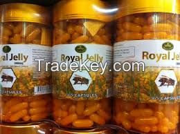 1000mg Refined Fish Oil Softgel / Royal Jelly Softgel Capsule
