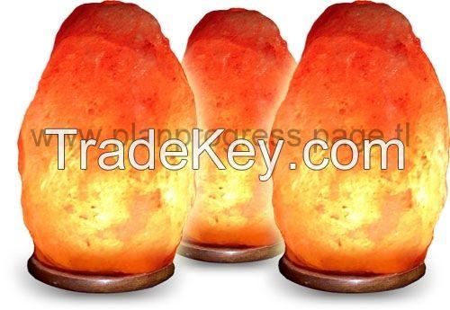 HIMALAYAN NATURAL ROCK SALT LAMP Pink / Red / Orange / (2-3 Kg)
