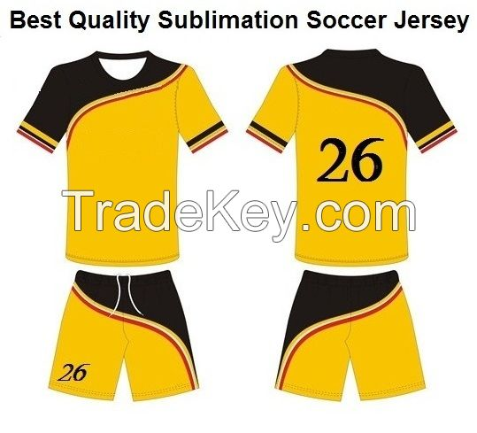 Sublimation Soccer Jersey Soccer Uniforms Football Sports Wear Soccer jersey sets customised name and numbers