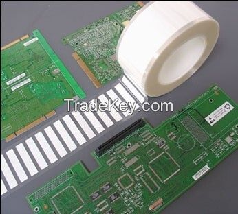 High Temperature PI barocode adhesive label for PCB