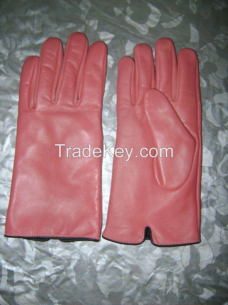Women Dressing Gloves, Leather Fasion Gloves