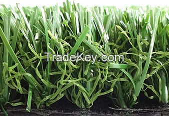 Durable green fake grass for outdoor furniture, natural look -J